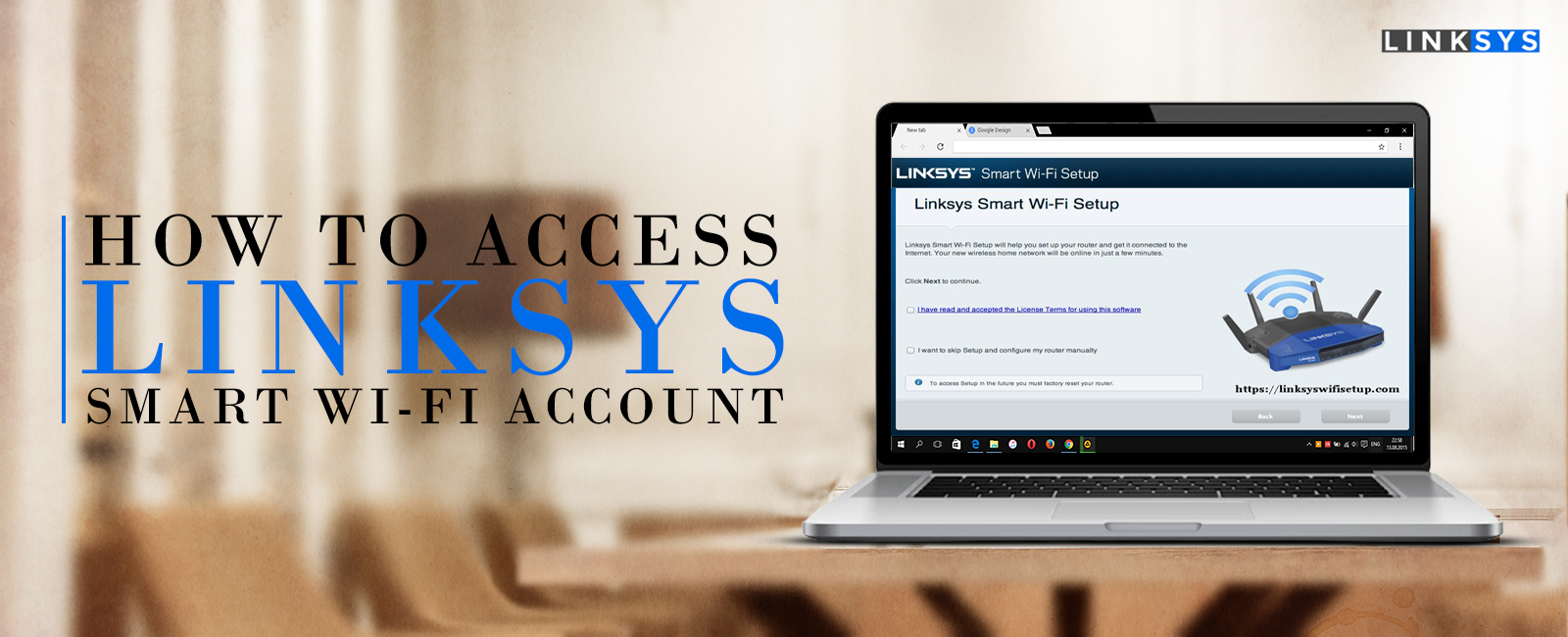 Linksys Smart Wi-Fi Account